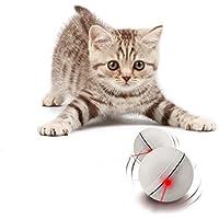 Hilai Interactive - Pelota de Juguete para Gato (360 Grados), Color Blanco