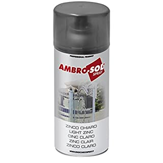 Ambro-Sol Z350 Zinc Spray, Light Grey