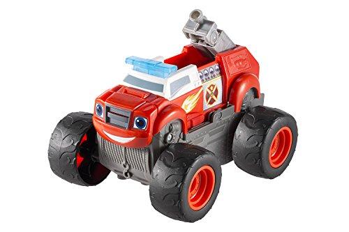 Blaze y los Monster Machines - Camión de Bomberos turbotransformación