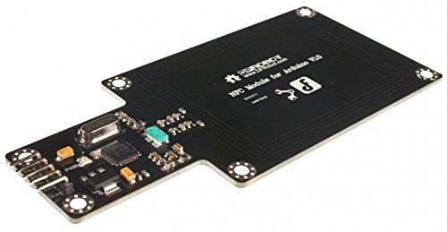 NFC modulo per Arduino/comunicazione è anche possibile tra un chip NFC NFC device e carrello come etichette, adesivi, chiavi e carte che non richiede batterie.