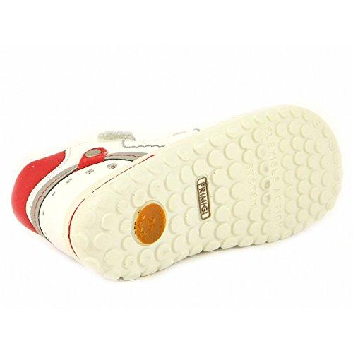 Primigi - Primigi Sandalo Bambino Adrio Bianco Rosso 49772 Blanc