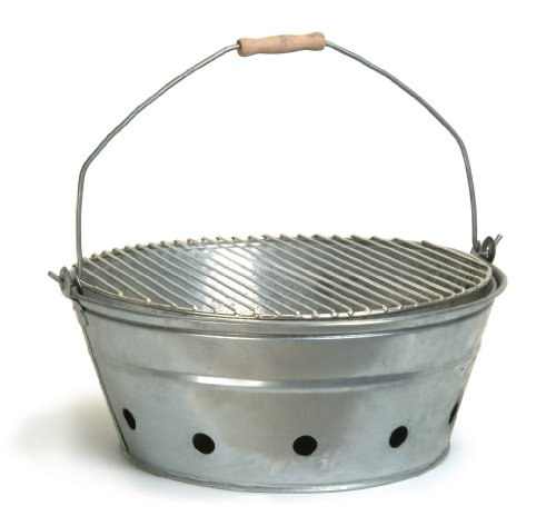 Garden Trading Verzinkter BBQ-Grilleimer
