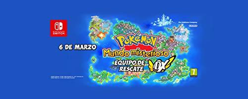 Pokémon mundo misterioso equipo de rescate DX (Nintendo Switch) + Cuaderno