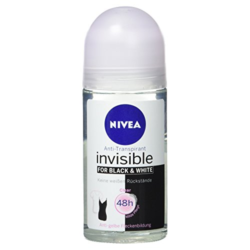 Nivea Deo Invisible for Black und White Roll-On, 50 ml