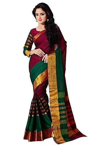 Saree (Great Indian Sale Sarees For Women Party Wear Designer Today Best Offers In Low Price Sale BHAGALPURI Fabric Free Size Ladies Sari(tadka jj))