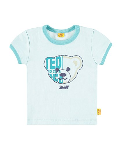 Glow Collection (Steiff Collection Jungen, T-Shirt, T-Shirt 1/4 Arm, Blau (blue Glow 3049), 62)