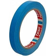 Klebeband Markierungsband tesafilm 4204 PVC, 12mmx66m, blau / Ideal für Tischabroller und Beutelverschlußmaschinen