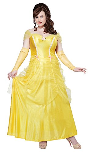 auty Fancy dress costume 3X (Belle-kostüm Plus Size)