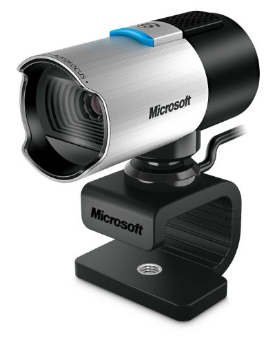 Microsoft lifecam studio 1920 x 1080pixel usb 2.0 nero, argento webcam