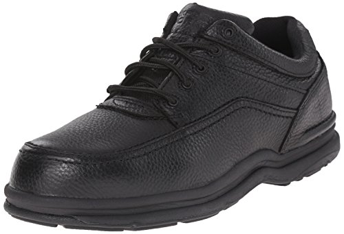 Rockport RK6761 World Tour 5 Eye Tie Casual Moc Toe Steel Toe Oxford Black 11.5 M US Eye Moc