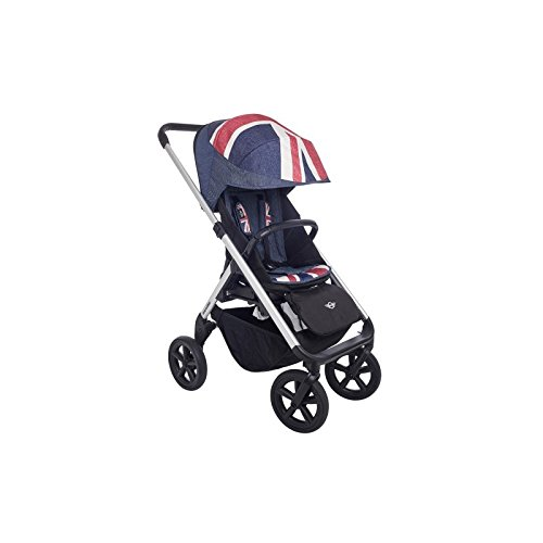 Easywalker Mini Passeggino Accessori Design Union Jack Denim
