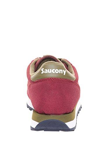 SAUCONY homme baskets basses S70254-1 JAZZ ORIGINAL Bordeaux
