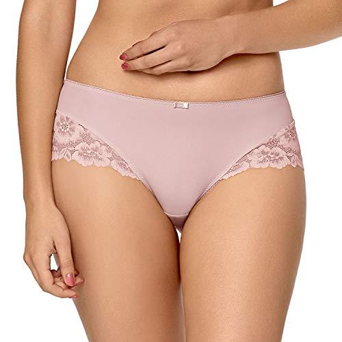 Nipplex Women's Telimena Pink Lace Knicker Shorties Boyshort Small -