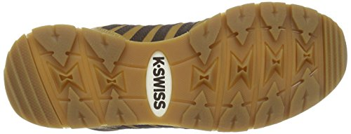 K-Swiss Si-18 Premier Hiker, Sneakers basses homme Marron - Braun (Bone Brown/Espresso/Whisper White 288)
