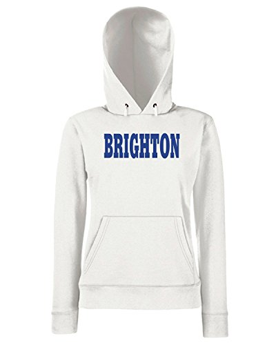 T-Shirtshock - Sweats a capuche Femme WC0722 BRIGHTON Blanc