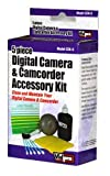 VidPro CCK-5/5 Piece Photo Accessory Kit (Cloth, Swabs, Solution, Blower Brush, Lens Tissue) in Color Box