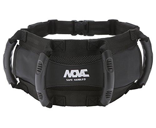 NOVAC BASE BELT Beifahrer-Sicherheitsgurt von Grip Grab Handgriff, der als Nierengurt für das ATV Superbike Jetski Motorrad-Motobike-Fahrrad-Schneemobil getragen werden kann