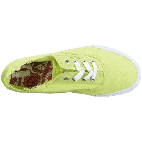 Puma 350935 13 tekkies brites, baskets mixte adulte Jaune - Gelb (Wild Lime-White)