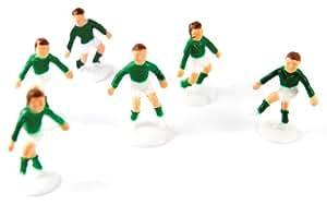 Déco Gateau Foot - 6 Joueurs - Anniversaire Enfant