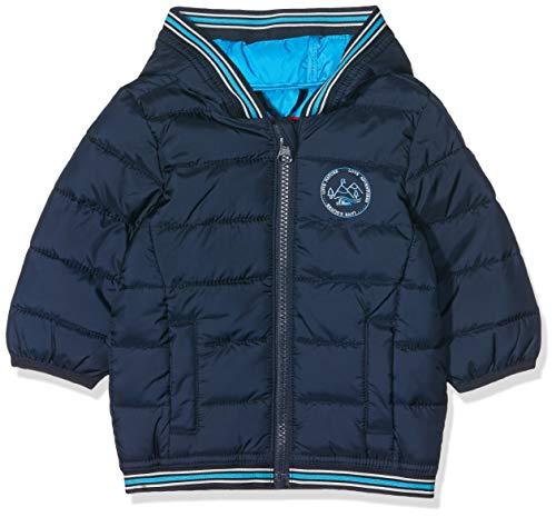 s.Oliver Junior Baby-Jungen 56.899.51.0754 Jacke, Blau (Dark Blue AOP 59b1), (Herstellergröße: 86)