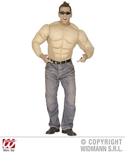 KOSTÜM - MUSKEL SHIRT- Größe 56 (XL), Hemd Hemden (Muskel Erwachsene Shirt Kostüme)