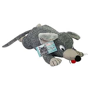 Wagner's Kratz Spielzeug Scratchy Mouse fast 1kg schweres Katzenspielzeug, das ideale Geschenk für Katzen