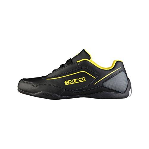 sparco-herren-jerez-schwarz-gelb-43-eu