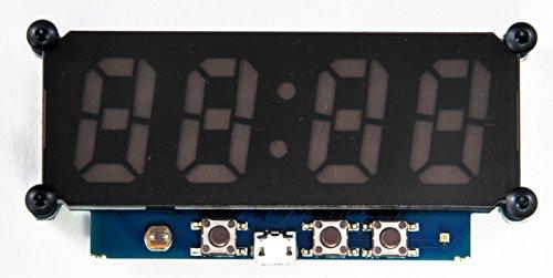 Cronios-Segmenta, LED-Uhr Bausatz mit SK6812 - mini LEDs 3535