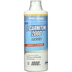 Body Attack L-Carnitine Liquid 2000 Cherry, 1er Pack (1 x 1 l)