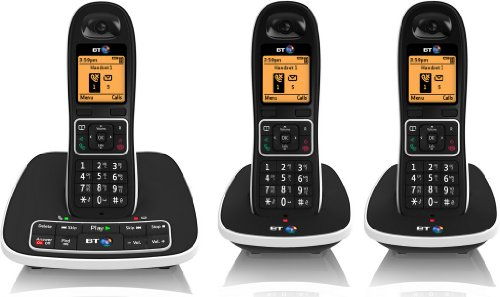 bt-7600-cordless-dect-phone-with-answer-machine-and-nuisance-call-blocker-pack-of-3
