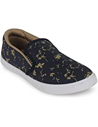 Scantia Men Printed Casual Canvas Loafers Shoes_Casual Shoes with stylish look New Latest Fashionable Trail Casual Fitness shoes comfortable to Wear with Attractive look shoe for Party or Carry in Daily Life _(Hurry Bumper Valentine Offer on Scantia Collection)