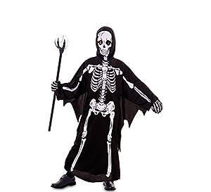 Fyasa 706091-t03esqueleto Boy disfraz, tamaño mediano