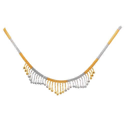Joyalukkas Zenina Collection 22K Yellow Gold Necklace