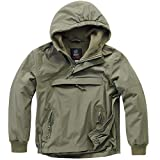 Brandit Kids Windbreaker Oliv - XL (158/164)