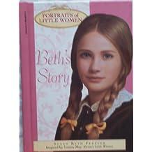 Beth's Story (Portraits of Little Women) by Susan Beth Pfeffer (1997-01-01)