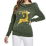 Soupliebe Loves 'Casual Herbst Winter Weihnachten Printing Long Sleeve Hoodies Sweatshirt Kapuzen Langarmshirt Sweatjacke Kapuzenpullover Pullover