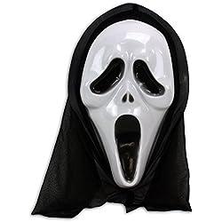 Mascara de Scream disfraces carnaval Halloween careta miedo cine terror