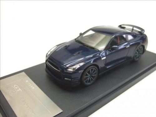 WIT'S 1/43 NISSAN GT-R 2011 Black Edition / Aurora Flare Blue Pearl by Creek - Blue Pearl Gt