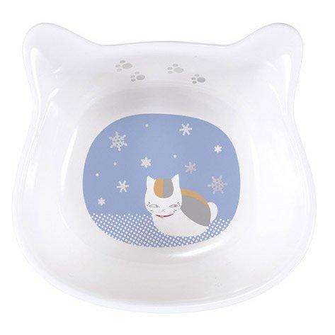 ichibankuji-natsumes-book-of-friends-nyanko-sensei-and-unwind-or-food-small-plates-snow-pattern-sing