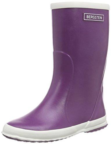 Bergstein  BN RainbootPU, Bottes en caoutchouc de hauteur moyenne, doublure froide mixte enfant Violet - Violet