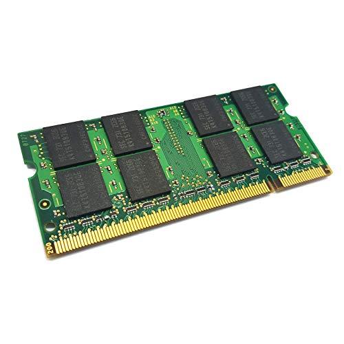 dekoelektropunktde Kompatibel für Sony VGN-CS31ST/R VPCW12S1E/P VGN-NW21MF/W Speicher | 2GB Ram Speicher Arbeitsspeicher SODIMM DDR2 PC2 Memory Upgrade