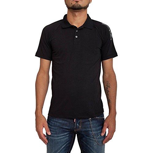 Poloshirt EA7 EMPORIO ARMANI Herren 3YPF83 PJ03ZE1200 Schwarz Black
