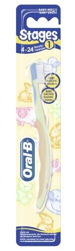 Oral-B Stage 1: für Kinder von 4 - 24 Mon., 12er Pack  (12 x  1 Stück)