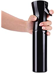 samLIKE Friseur Spray Flaschen Salon Friseur Haar Werkzeug Wasser Sprüher 500ML (Schwarz)