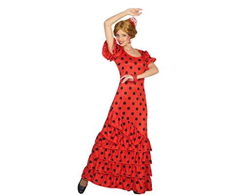 Atosa 16965 - Flamenco-Frau, Damenkostüm, M-L, 38/40, (Kostüm Gefängnis Frau)