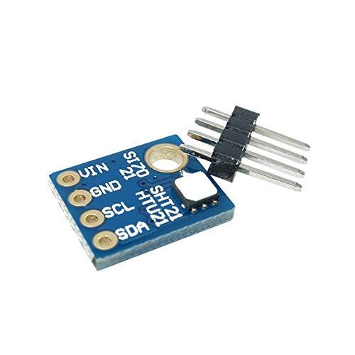 Erduo I2C-Schnittstelle Luftfeuchtigkeit Sensor Temperatursensor industrielle hohe Präzision niedrigen Stromverbrauch Sensor Indoor Wetterstation - blau