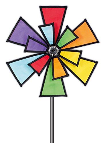 PaulGünther 1308 - campanas de viento Molino de viento, aire libre y deporte, colorido