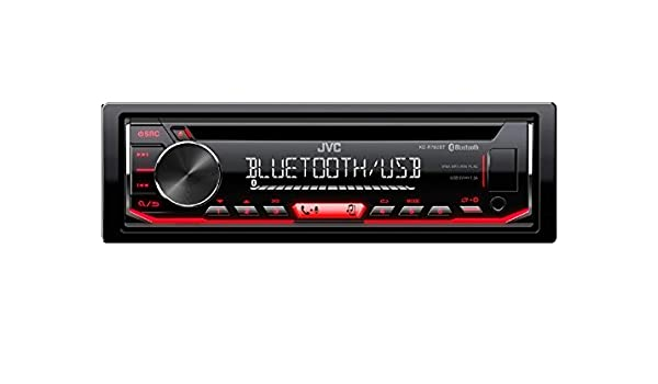 R50 One//Cooper 2003-2006 JVC Radio KDR792BT CD Bluetooth Spotify mit Einbauset f/ür Mini