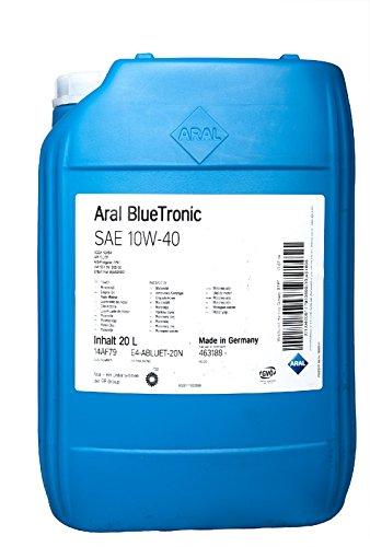 ARAL BlueTronics 10W-40 Motorenöl, 20 Liter -