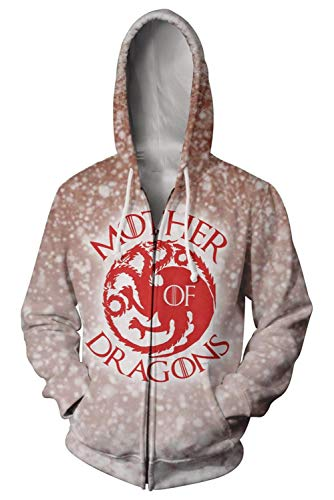 MingoTor Uomo Donna Game of Thrones Season 8 Daenerys Targaryen Madre dei...